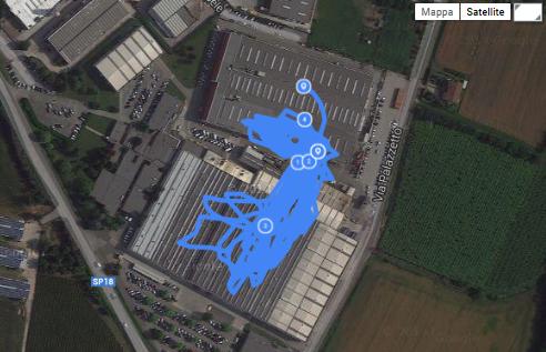 tracking dei carrelli